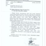 surat perihal pengelolaan keuangan BLU